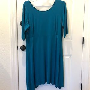NWT EILEEN FISHER TENCEL DRESS - 1X